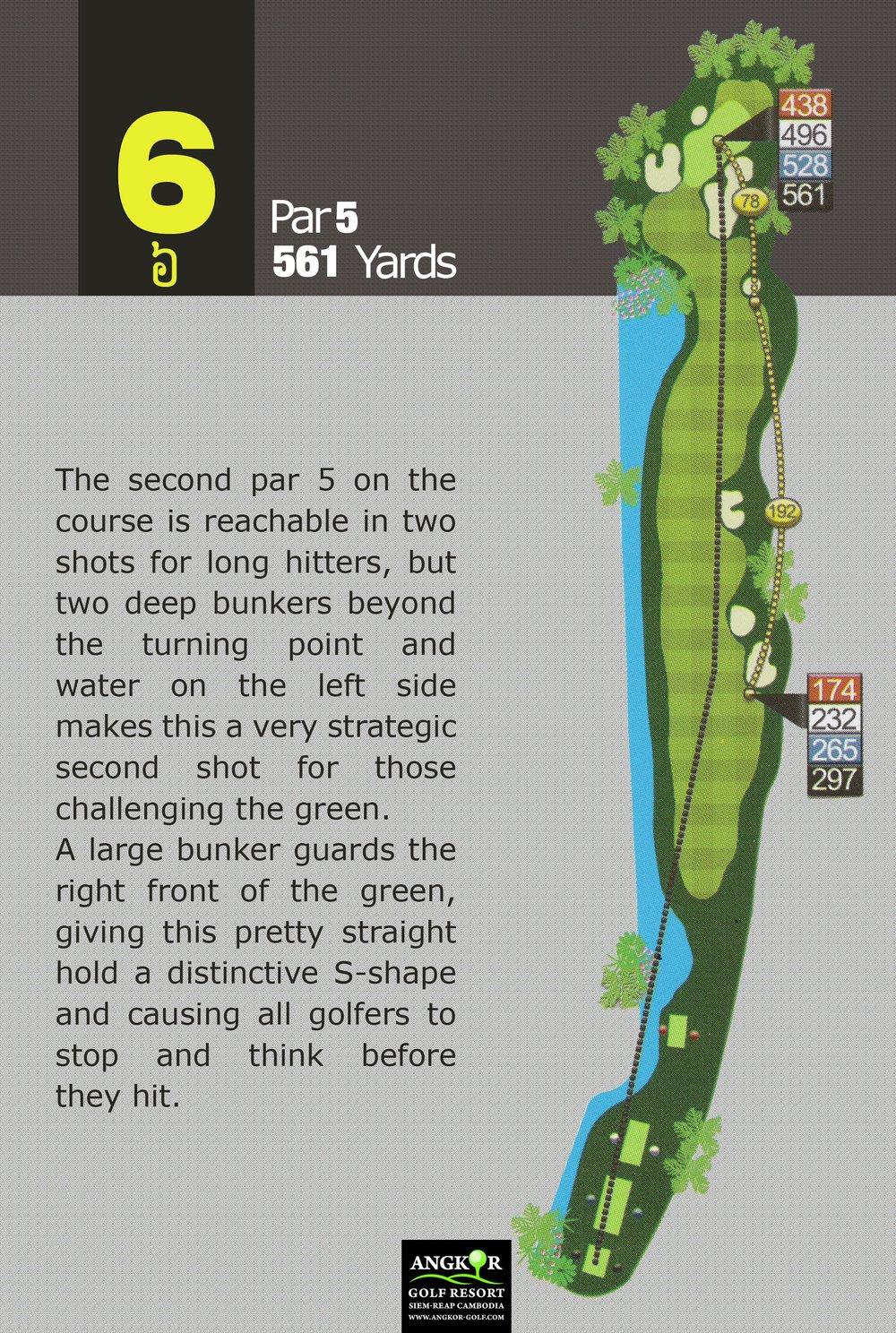 Hole 6 - Par 5 561 Yards