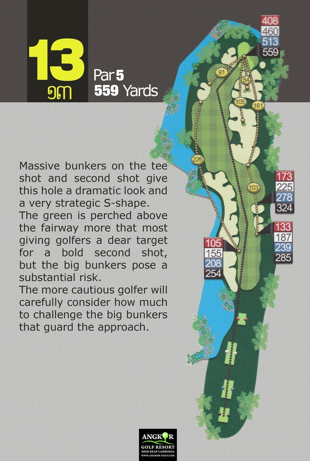Hole 13 - Par 5 559 Yards