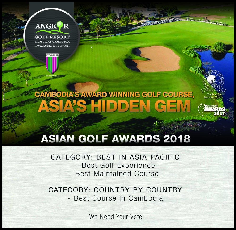 award asian golf