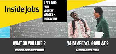 insidejobs.com's tool for career discovery