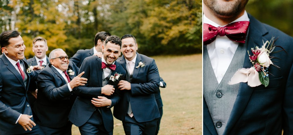 groomsmen details
