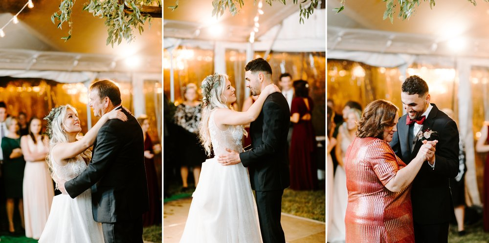 first dances with parents
