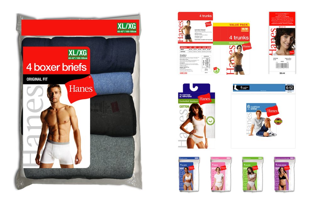 hanes: red label