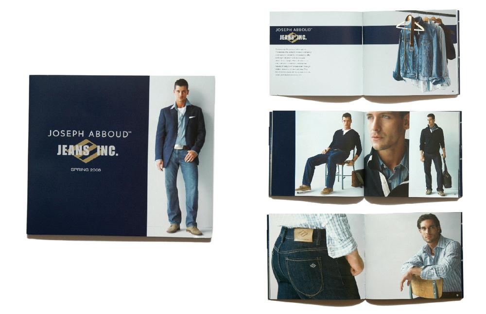 joseph abboud: jeans: spring 2008 lookbook