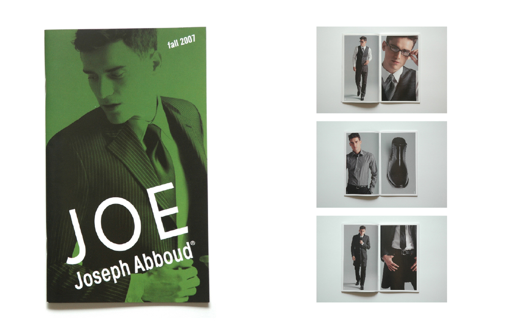 joseph abboud: joe: fall 2007 lookbook