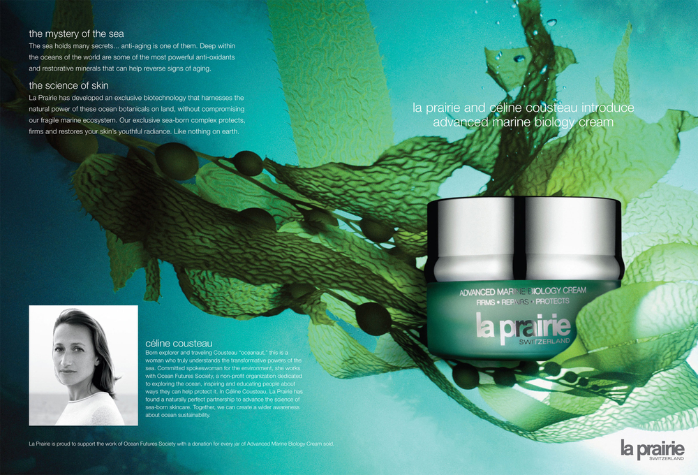 la prairie: advance marine biology cream: print