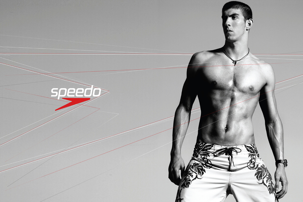 speedo: michael phelps: print/ooh 2007