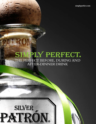 patrón tequila: print/ooh: unpublished