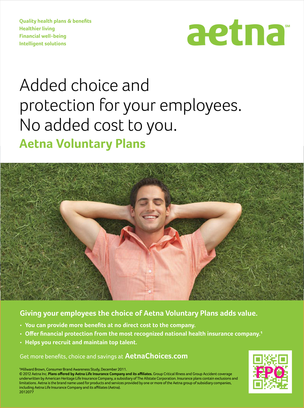 aetna: b2b print: voluntary