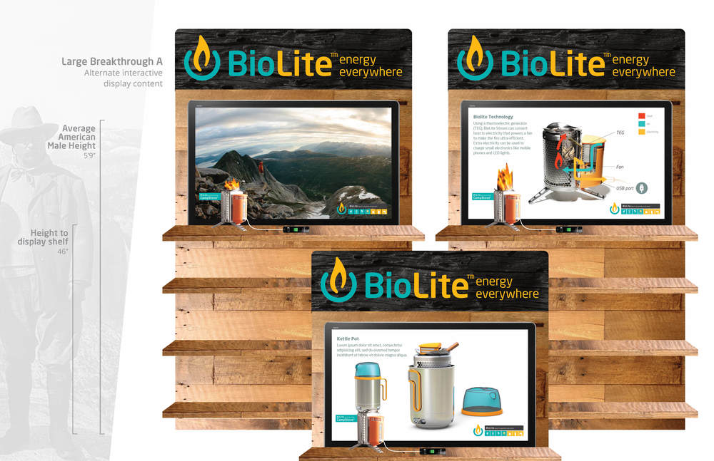 biolite | pop exploratory | large standalone screen content