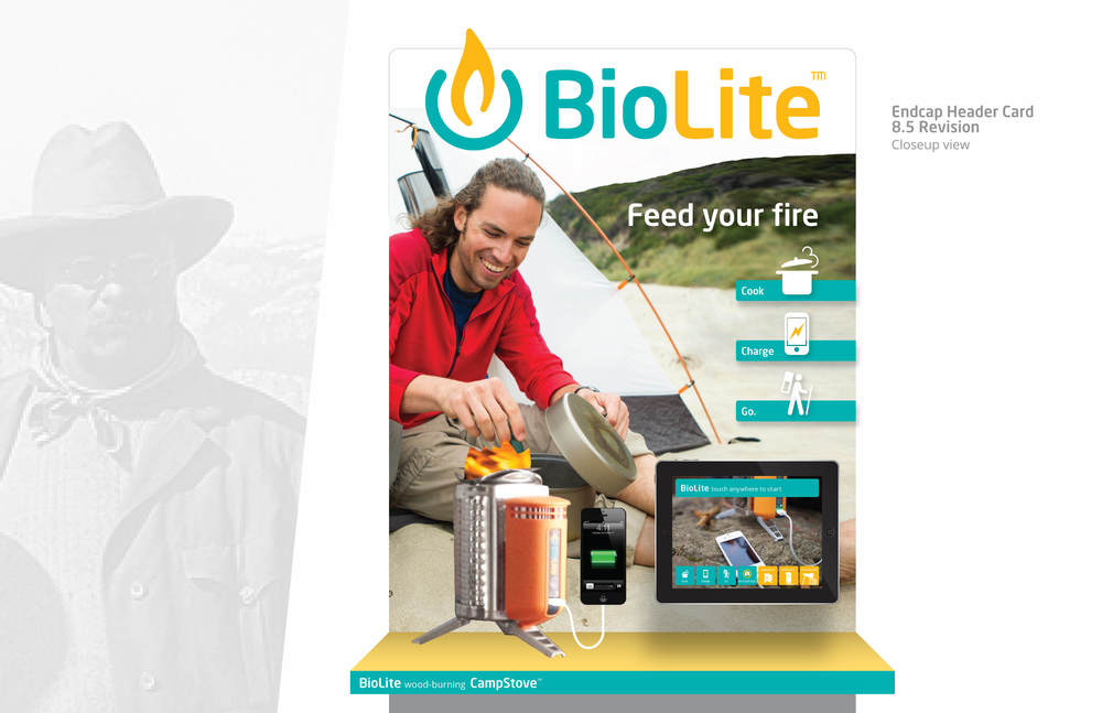 biolite | pop exploratory | endcap option