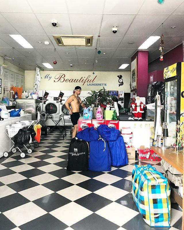 Sydney, NSW, Australia. #laundromatsofinstagram #laundromat #waschsalon #wassalon #laundrette #launderette #coinlaundry #lavage #laundry #altourism #laverie #facade #minimalism #lavomatic #washing #sydney #nsw #australia