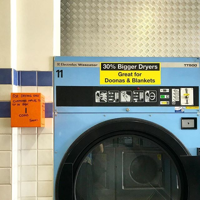 Melbourne, Victoria, Australia. #laundromatsofinstagram #laundromat #waschsalon #wassalon #laundrette #launderette #coinlaundry #lavage #laundry #altourism #laverie #facade #minimalism #lavomatic #washing #melbourne #victoria #australia