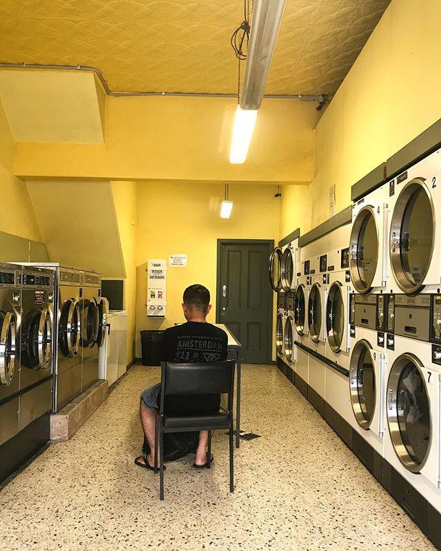 Melbourne, Victoria, Australia. #laundromatsofinstagram #laundromat #waschsalon #wassalon #laundrette #launderette #coinlaundry #lavage #laundry #altourism #laverie #facade #minimalism #lavomatic #washing #melbourne #victoria #australia #yellow