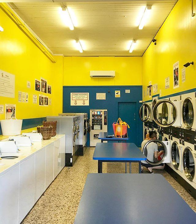 Brunswick, Victoria, Australia. #laundromatsofinstagram #laundromat #waschsalon #wassalon #laundrette #launderette #coinlaundry #lavage #laundry #altourism #laverie #facade #minimalism #lavomatic #washing #melbourne #victoria #australia #brunswick