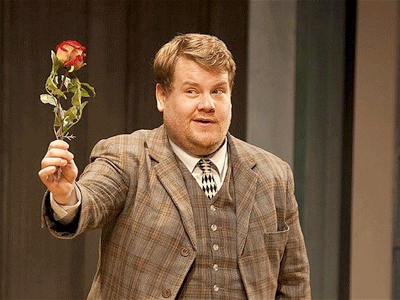James Corden not Richard Bean