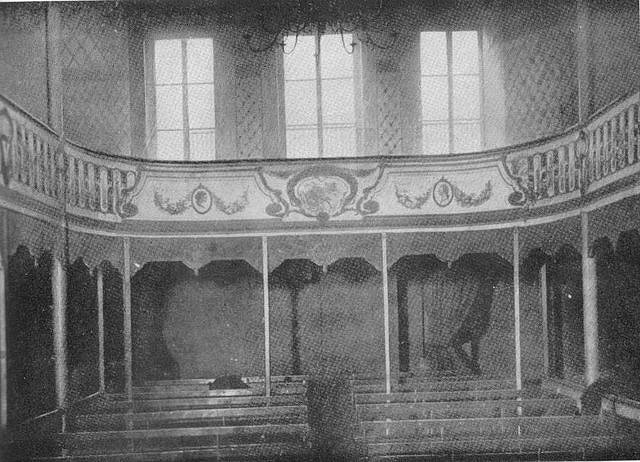 Interior of the Théâtre Libre in its original home in the Passage de l'Élysée des Beaux-Arts (probably)