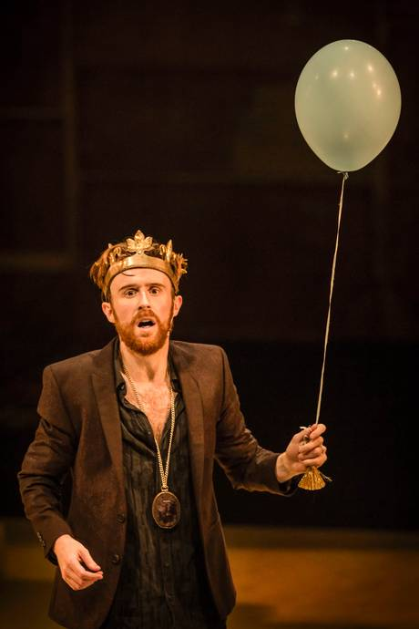 John Heffernan as the King