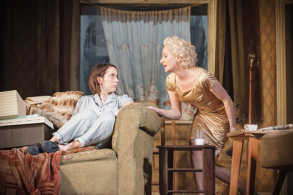 Kate O'Flynn and Lesley Sharp in A Taste of Honey at the National Theatre. Photo: Marc Brenner.