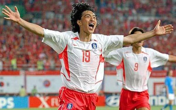 South Korean footballer Ahn Jung-Hwan