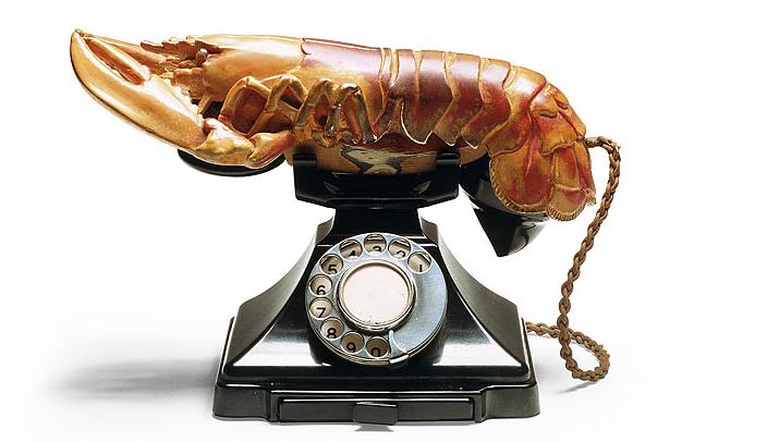 Salvador Dalí  Aphrodisiac Telephone  (1936)