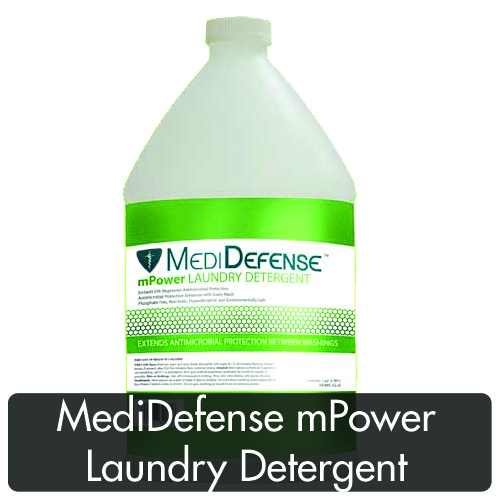 Keeps workings even between washings… - 1) Embeds antimicrobial protection into fabrics during washing.2) Protects against the bacterial source of odors between washings.3) Non-toxic, phosphate free and hypoallergenic.4) Safe for use in high efficiency machines.