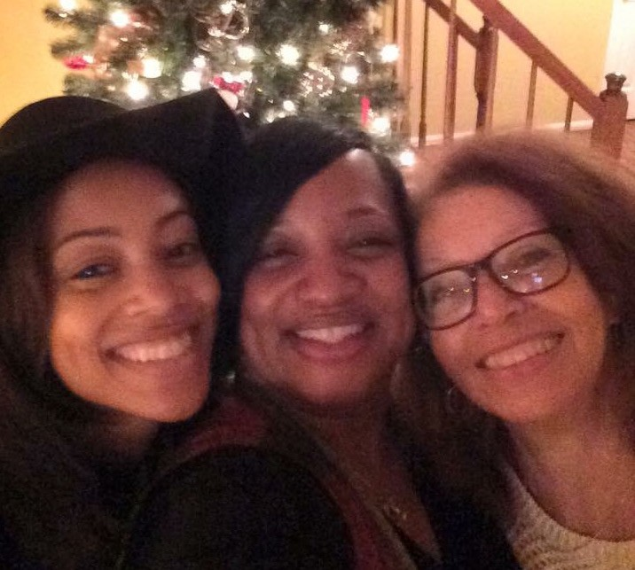 Christmas 2015: Me, Aunt Tiff and Mommy
