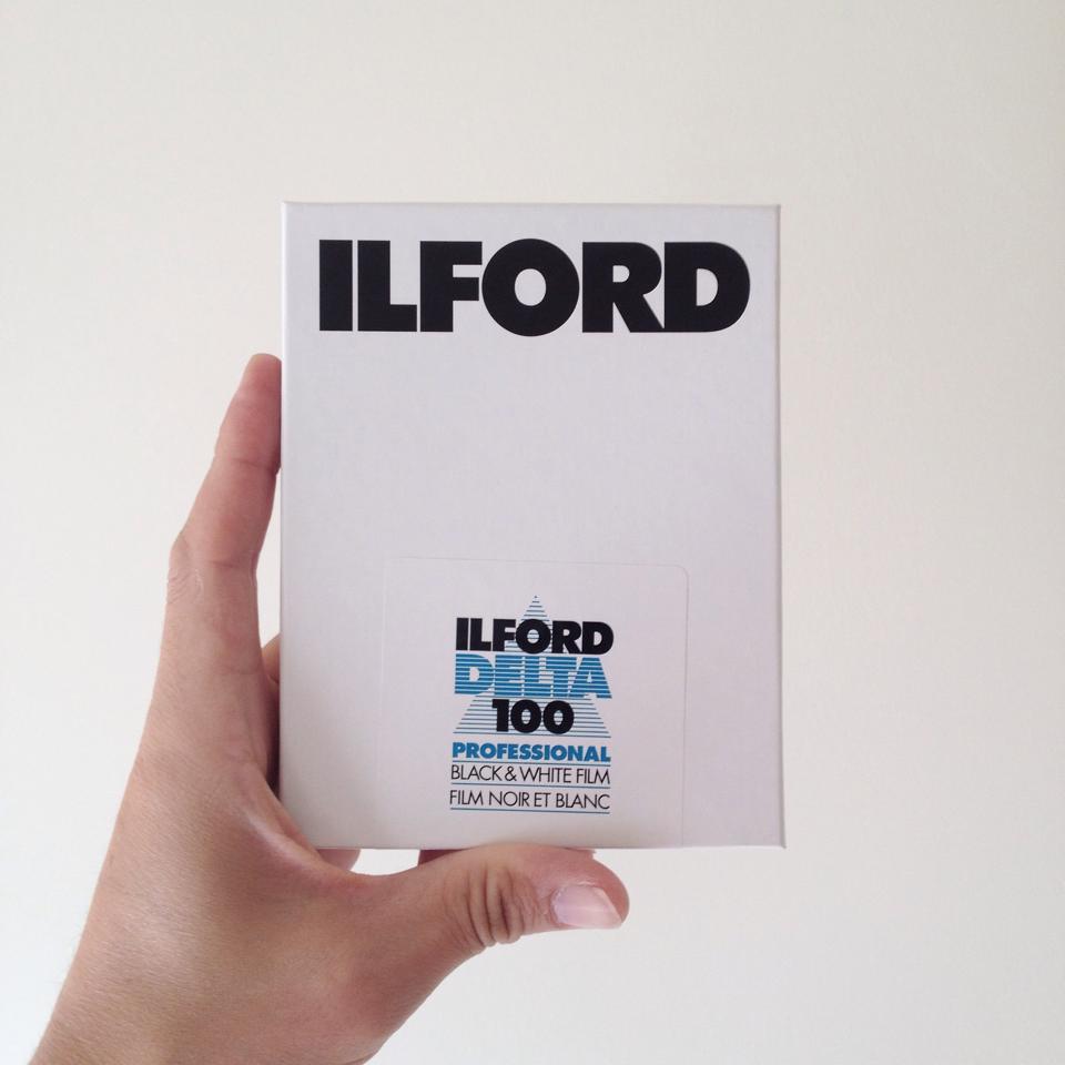 Ilford Delta 100, £30