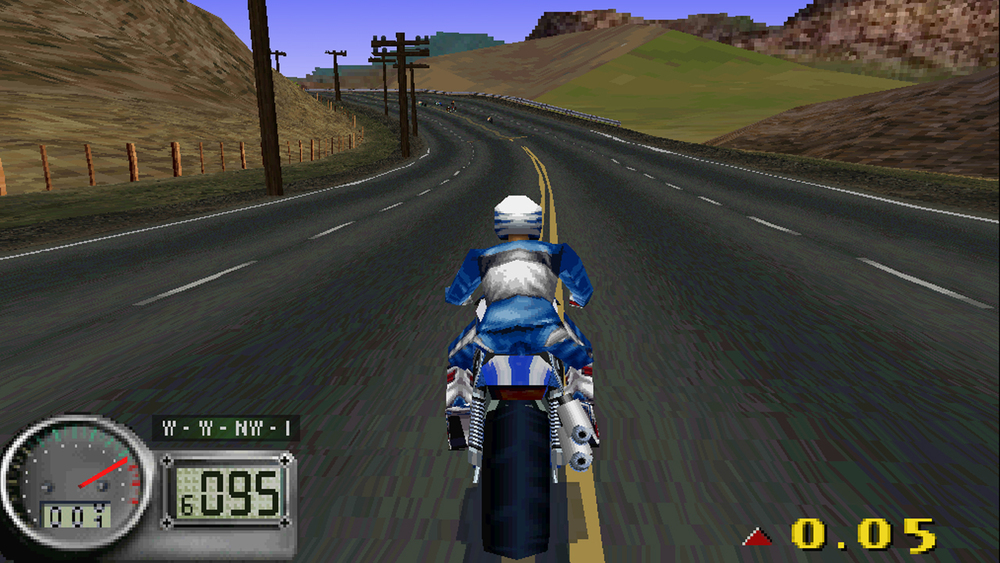 Road Rash 5, erm, 3D.