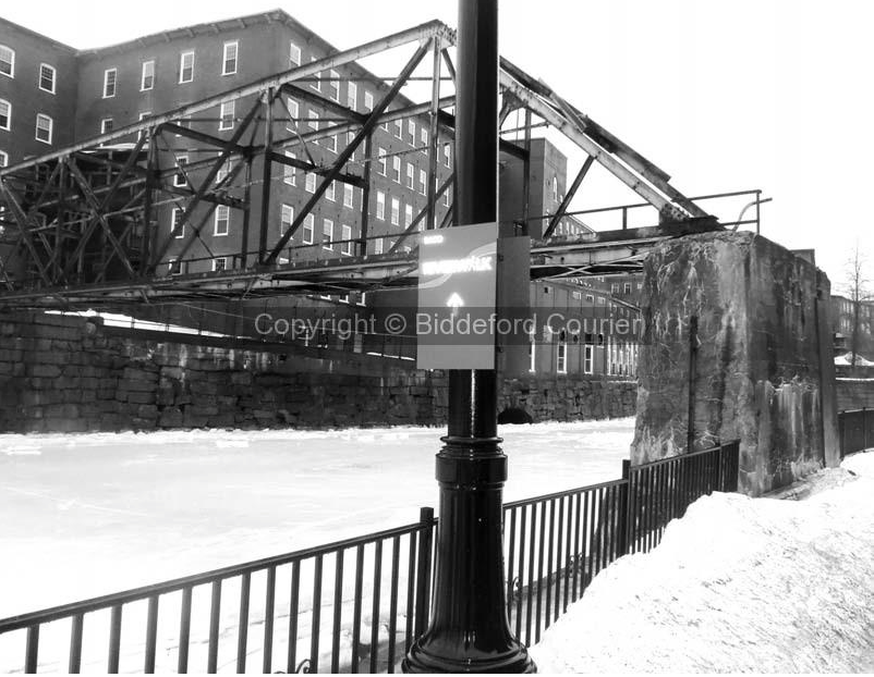 Bridge photo taken by the Biddeford-Saco-OOB Courier.