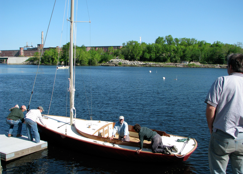 This is a photo taken from Rumery's Boat Yard in Biddeford. In the background is some of the most valuable undeveloped land in downtown Saco --- 6 acres right on the water, with deep water access right at the shore!
