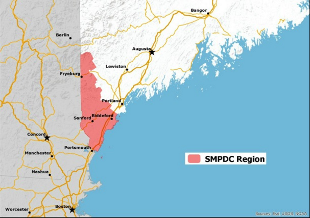 Click on map to visit the SMPDC web site.