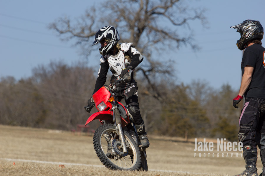 Elite Motorcycle Tours with Steve Hatch Racing in Bulcher, TX. January 2014.