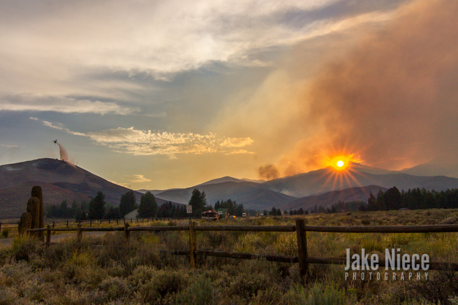 Wildland Sunset