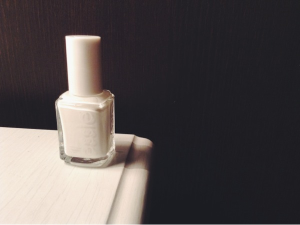 Nail polish from essie. Can't judge whether it's good or bad as I havn't used nail polish in a very long time.