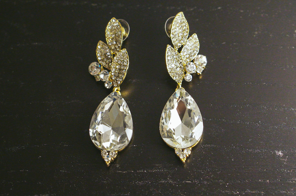 beautiful chunky drop earrings