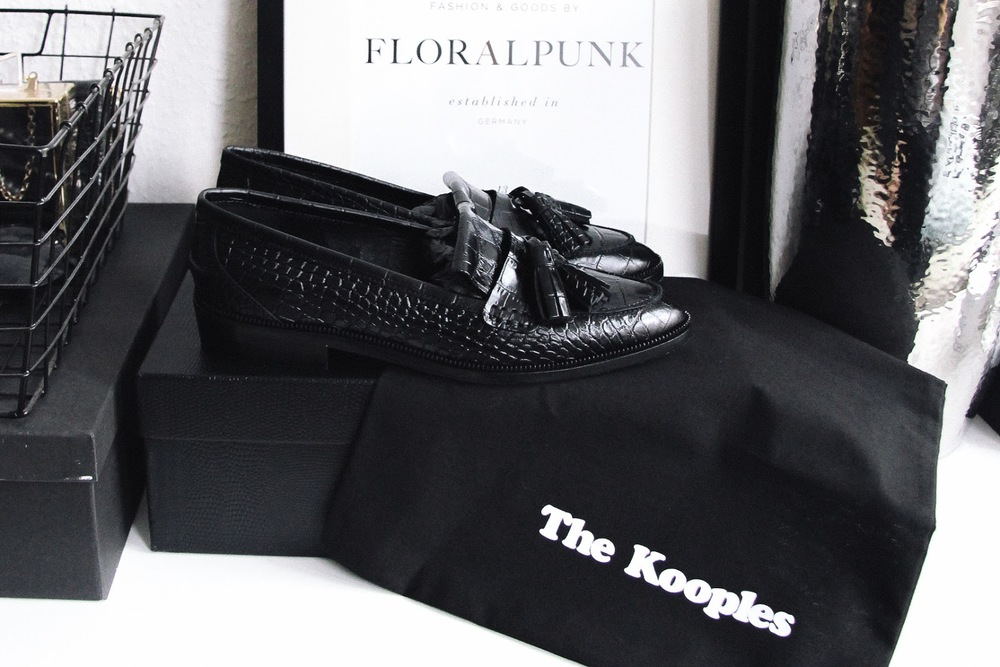the kooples shoes, the kooples moccasins, the kooples loafers, black croco loafers, perfect black loafers