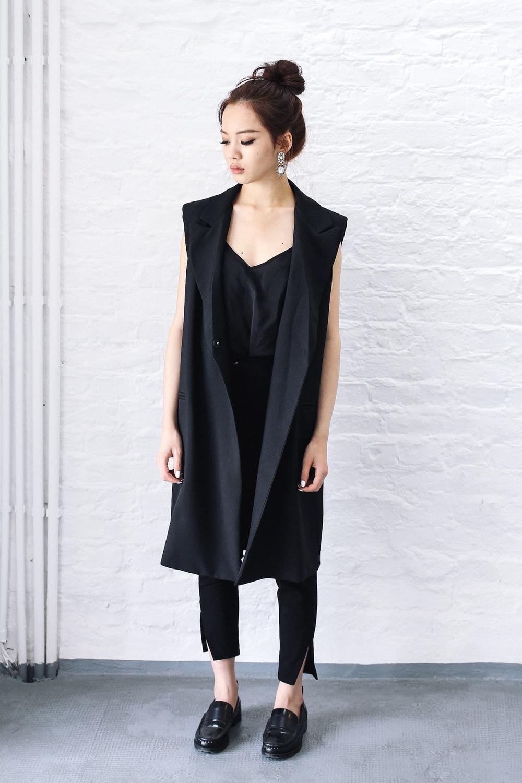vietnamese fashion, floralpunk, floralpunk behind the scenes, shopping ho chi minh, saigon fashion, long black vest