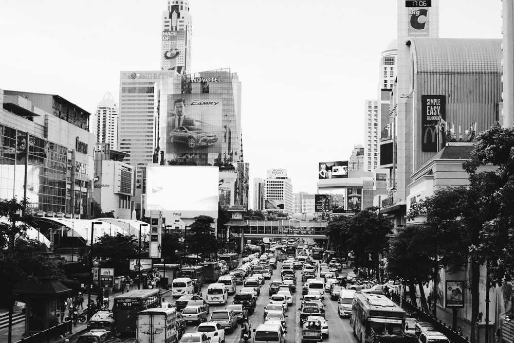 Bangkok is horrible by car and cab ! Traffic jam always and everywhereeeee !!!