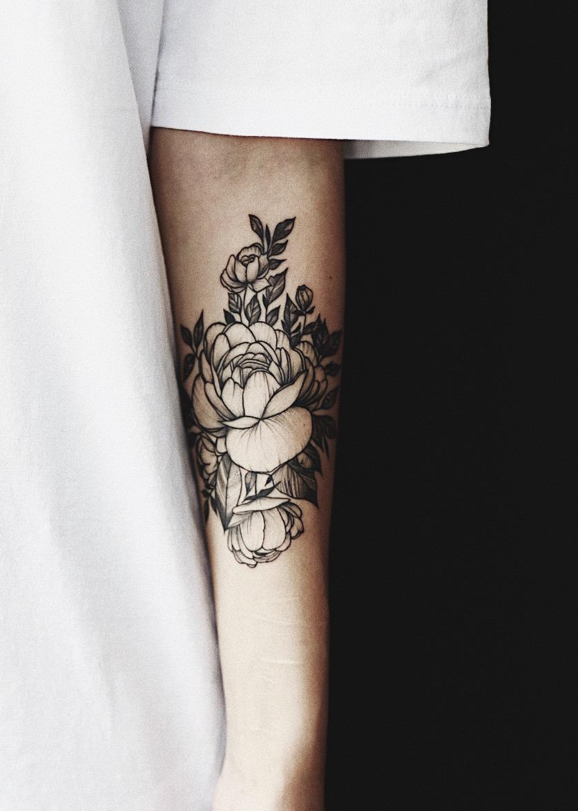 My Peony Tattoo Juliadoan