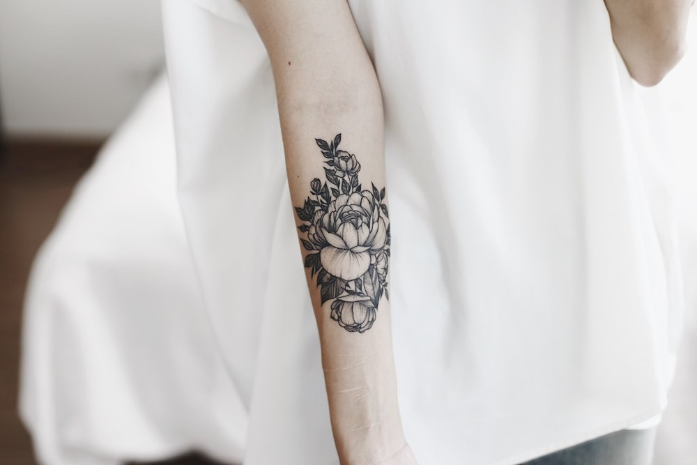 Julia Doan tattoo