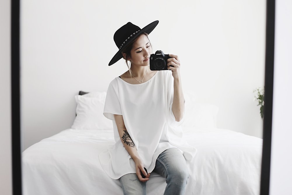 Julia Doan Blogger camera