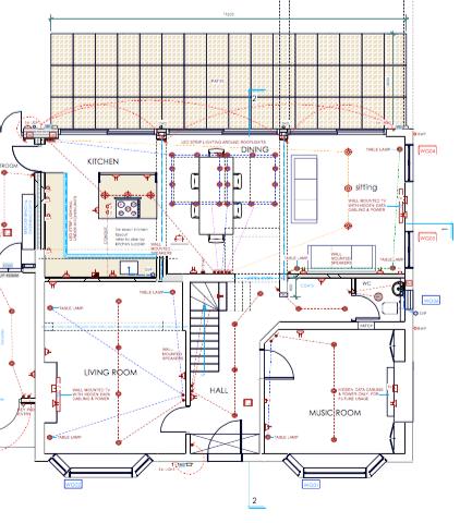 Smart Home Wiring Diagram: Smart Home Wiring - Demand It - #LiveInstall u2014 #LiveInstall,Design