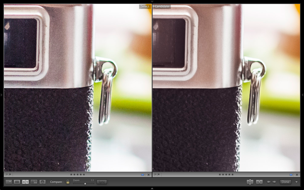 Stylized Comparison At ISO 400. Raw on Left. HDR on Right.