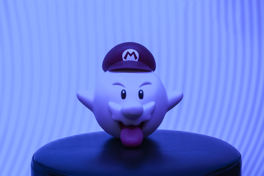 Write Lighting Mario Ghost Nintendo Product Photography.jpg