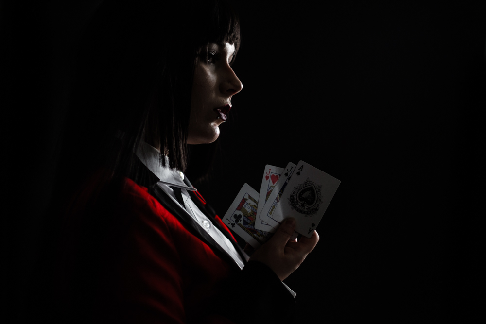 Cosplay Poker Girl Portrait Low Key Write Lighting.jpg