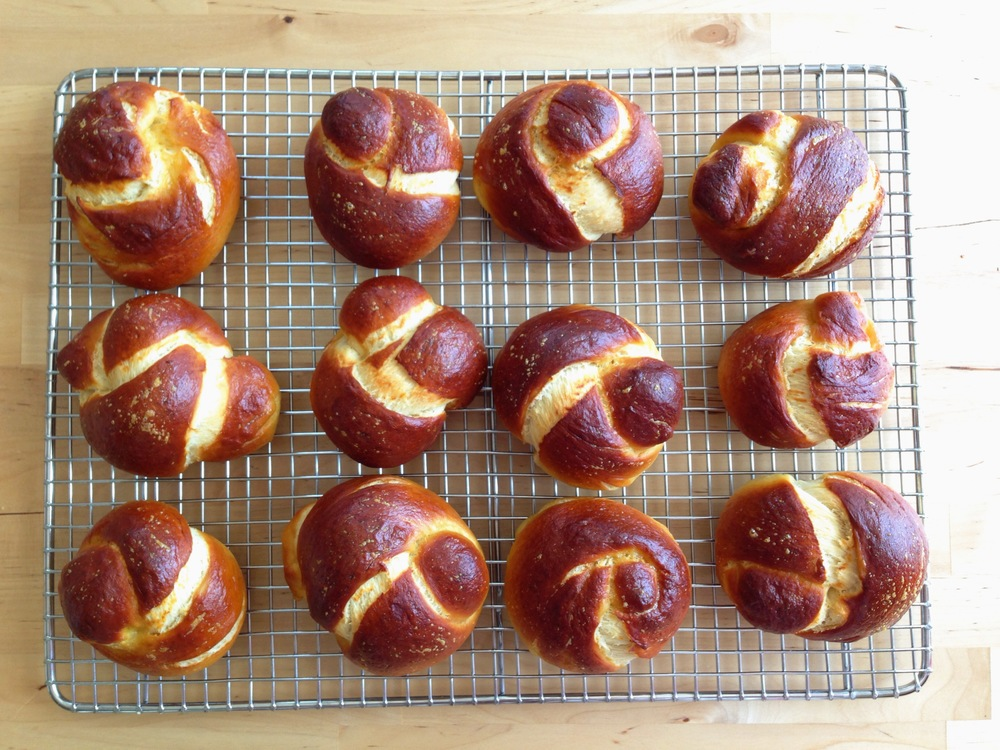 Pretzel Challah Rolls Recipe — Country Mouse Confessions