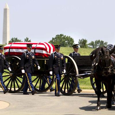 Caisson at Arlington National Cemetery