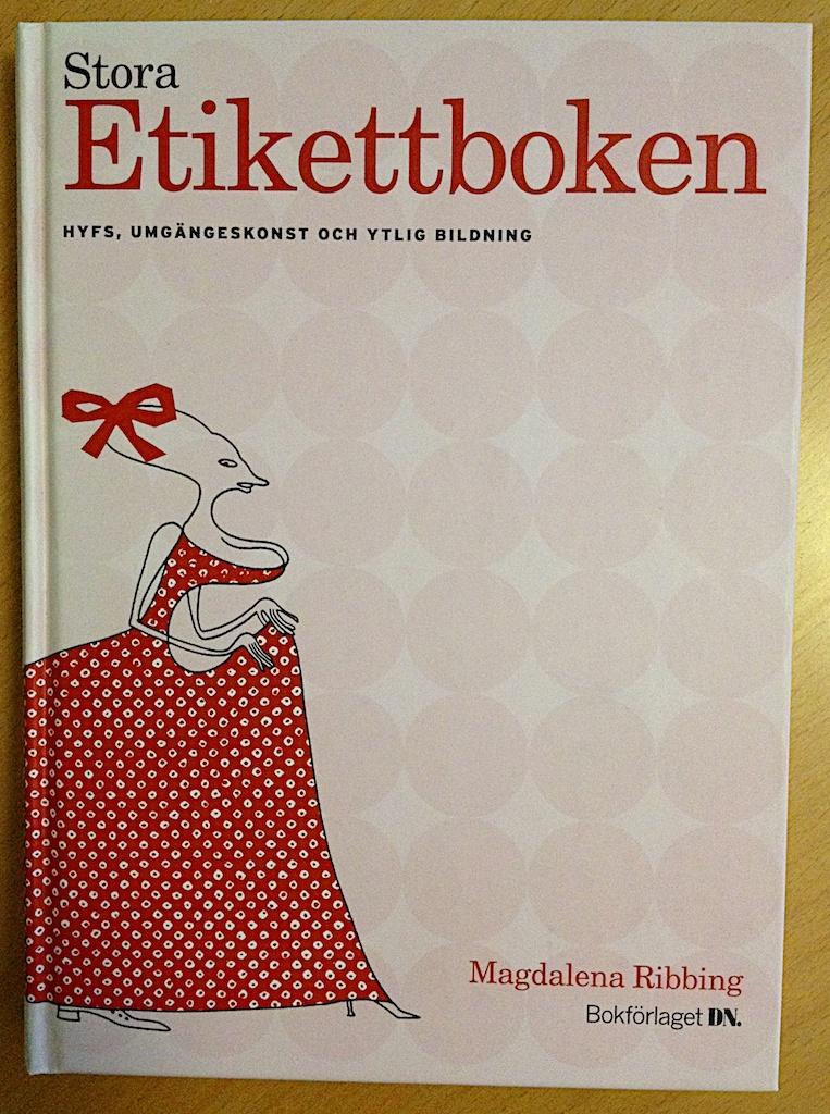Stora Etikettboken av Magdalena Ribbing