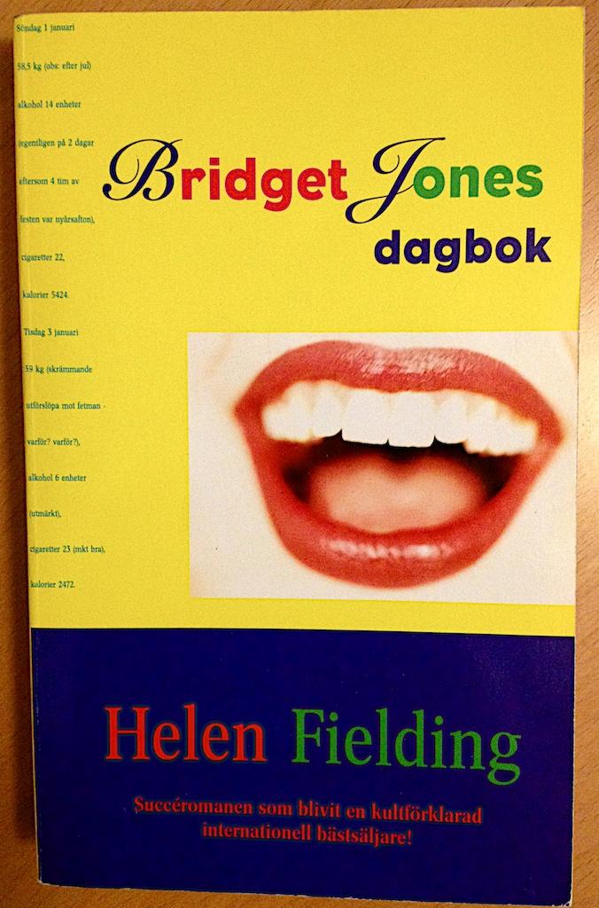 Bridget Jones dagbok av Helen Fielding